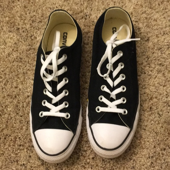 43ed1ff82ee4 Converse Shoes - New! Authentic black converse! Feel free to offer!